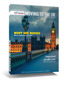 Moving To The UK Book
