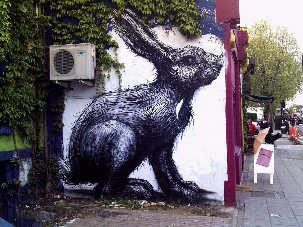 Hackney Street Art. Photo credit: Conor Cotter