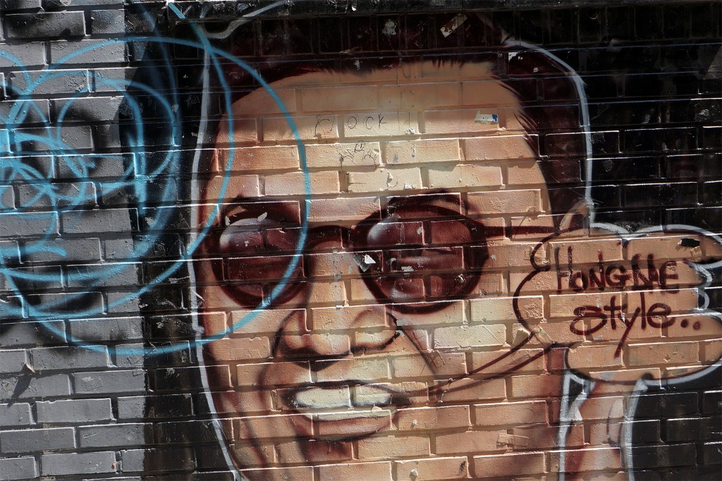Hongdae Street Art, Seoul. Photo Credit: Longzijun