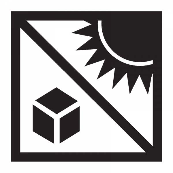 protect from heat shipping symbol
